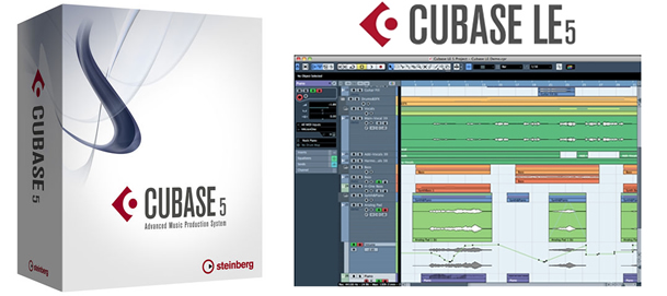 Cubase 5 screenshot