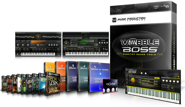 WobbleBoss Dubstep Sound Kit Package